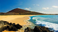 The beaches of Ascension Island