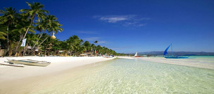Boracay Island in the Philippines.