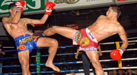 A Thai Boxing Match