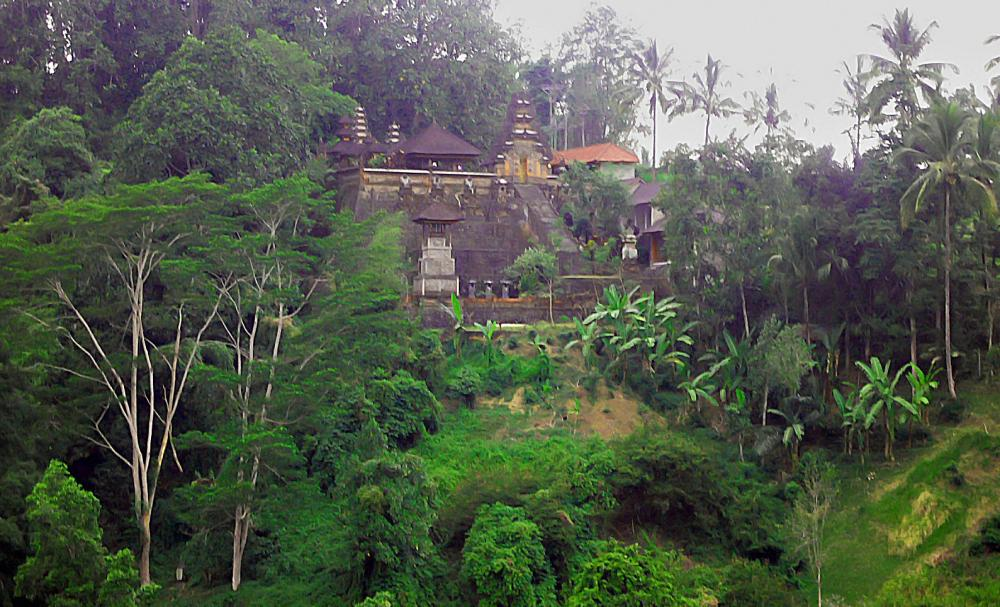 The town of Ubud in Bali