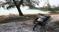 Biking on Koh Rong