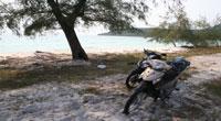 Biking on Koh Rong