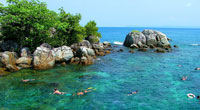 Snorkeling on Koh Chang