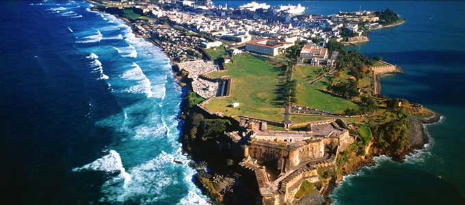 The city of San Juan, Puerto Rico