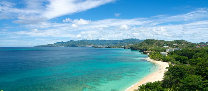Grenada in the Caribbean.