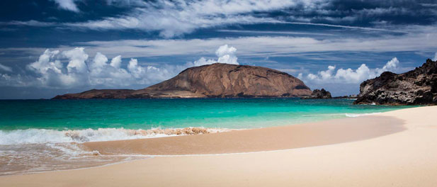 Canary Islands Beaches - Playa de las Conchas Beach